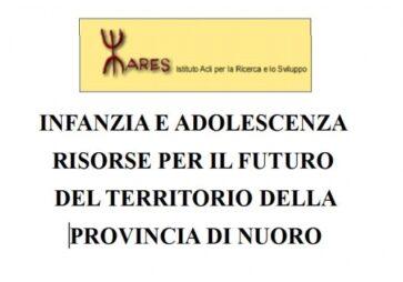 Infanzia e Adolescenza risorse per il futuro del territorio della Provincia di Nuoro